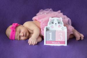 Zabezpieczony: Sesja noworodkowa 11 dniowa ślicznotka