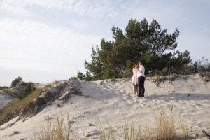 Zabezpieczony: Sesja plenerowa nad morzem Ewelina i & Waldek – Hel