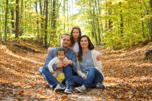 Zabezpieczony: Rodzinna sesja jesienna Pustki Cisowskie Gdynia