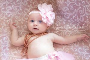 Zabezpieczony: Paulinka – sesja noworodkowa
