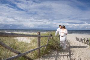 Zabezpieczony: Karolina & Bartek sesja plenerowa nad morzem