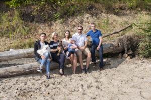 Zabezpieczony: Sesja rodzinna – Gdynia Oksywie plaża