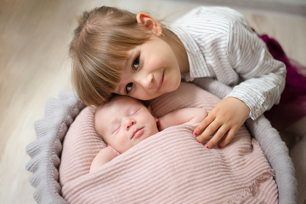 Siostry sesja dziecięca Wiśniewo